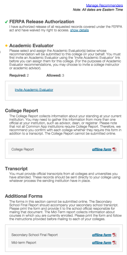 transcript | Get Me To College