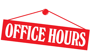 Image result for office hours png